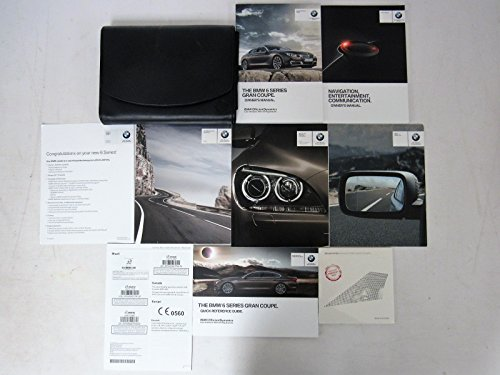 2014 BMW 6 series Gran Coupe 640i / 650i / xDrive Owners Manual Guide