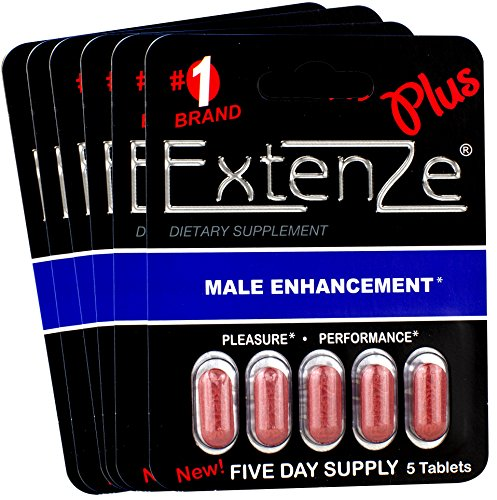 (Extenze Plus 30 Tablets, 6 5-Pill)
