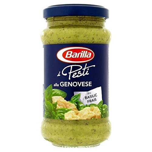 Amazon Com Barilla Pesto Genovese 190g 0 42lbs Grocery Gourmet Food