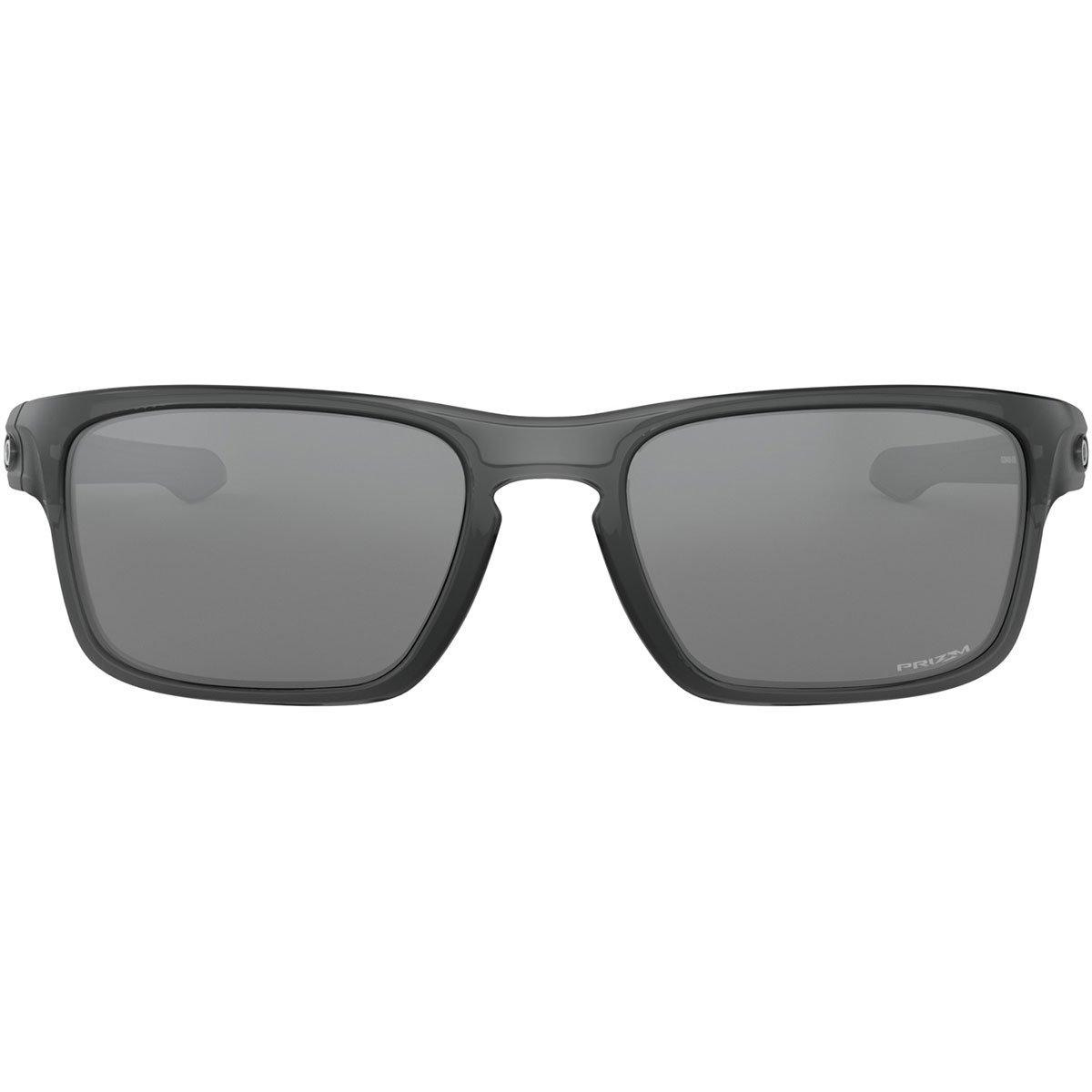 b90bf67f5dccd Amazon.com  Oakley Men s Sliver Stealth Non-Polarized Iridium Rectangular  Sunglasses GREY SMOKE 55.8 mm  Clothing