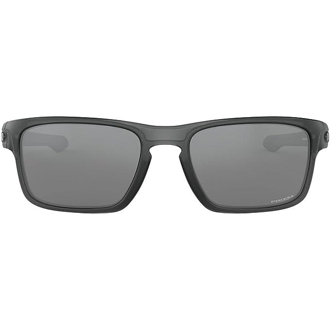 76abbdaa34668 Amazon.com  Oakley Men s Sliver Stealth Non-Polarized Iridium Rectangular  Sunglasses GREY SMOKE 55.8 mm  Clothing