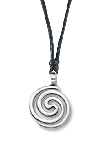 Amazon silver spiral necklace from ireland celtic jewelry silver spiral necklace from ireland celtic jewelry mozeypictures Image collections