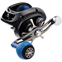 "Daiwa LEXA-WN300HSL-P Lexa Type WN Casting Reel, 300, 7.1: Gear Ratio, 32.40"" Retrieve Rate, 22 lb Max Drag, Left Hand, Clam"