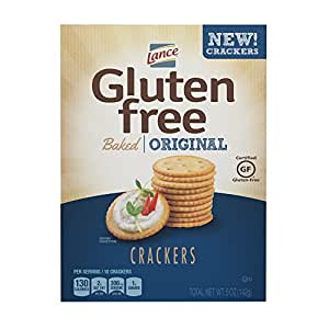 Amazon.com : Lance Gluten Free Baked Crackers, Original, 5