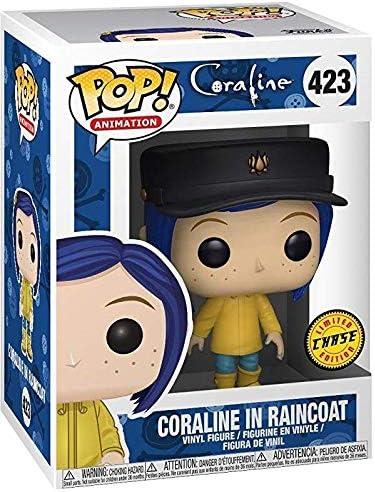 Funko Coraline Coraline Raincoat n°423 CHASE Pop!