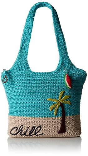 Tote Classics Palm Scuba Sak Shoulder Large Bag Casual The 1xHBwnq