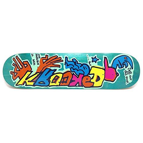 追う有毒一過性KROOKED DECK クルキッド デッキ TEAM SELL OUT 8.02 スケートボード スケボー SKATEBOARD