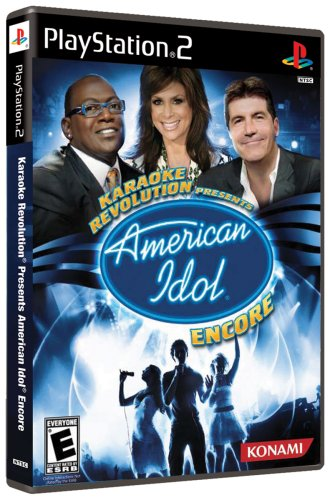 Karaoke Revolution Presents: American Idol Encore - PlayStation 2 (Games Konami American Karaoke Idol)