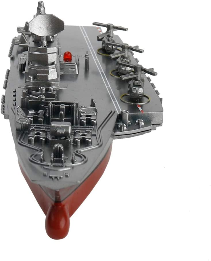 DANDANdianzi Battleship RC Warship Distance Cruiser contr/ôle Speedboat Navire de Guerre Mod/èle Jouets transporteurs Enfants Avions Souvenirs