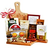 California Delicious Gourmet Picnic Gift Basket and Cutting Board,  4 Pound