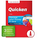 #8: Quicken Deluxe 2018 – 27-Month Personal Finance & Budgeting Software [PC/Mac Download] – Amazon Exclusive