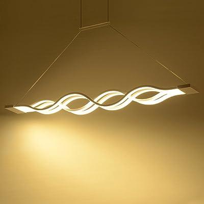 60w Luminaire Suspension Led Design Moderne Creative Suspendus