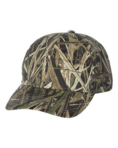 [Mossy Oak Adjustable Plastic Snap Closure Blank Cap, Mossy Oak Shadow Grass Blades Camo] (Mossy Oak Shadow Grass Hat)