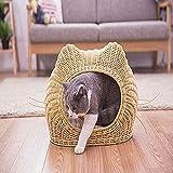 ZNN Rattan Cat's Nest - Summer Cat House Four