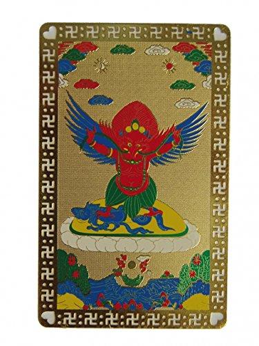 (Feng Shui Import Garuda King Bird Talisman Card)