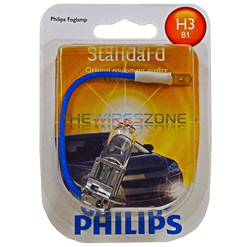 Philips H3 Standard Halogen Headlight Bulb (Pack of ()