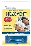 Scandinavian Formulas Nozovent Anti-Snoring Device, 2 Count