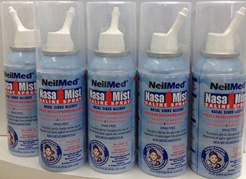 Neilmed Nasamist Saline Spray - 75 Ml by NeilMed (Neilmed Nasamist Saline Spray)