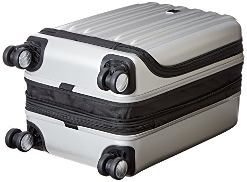 1f3809c236 Delsey Luggage Helium Titanium International Carry-On EXP Spinner Trolley