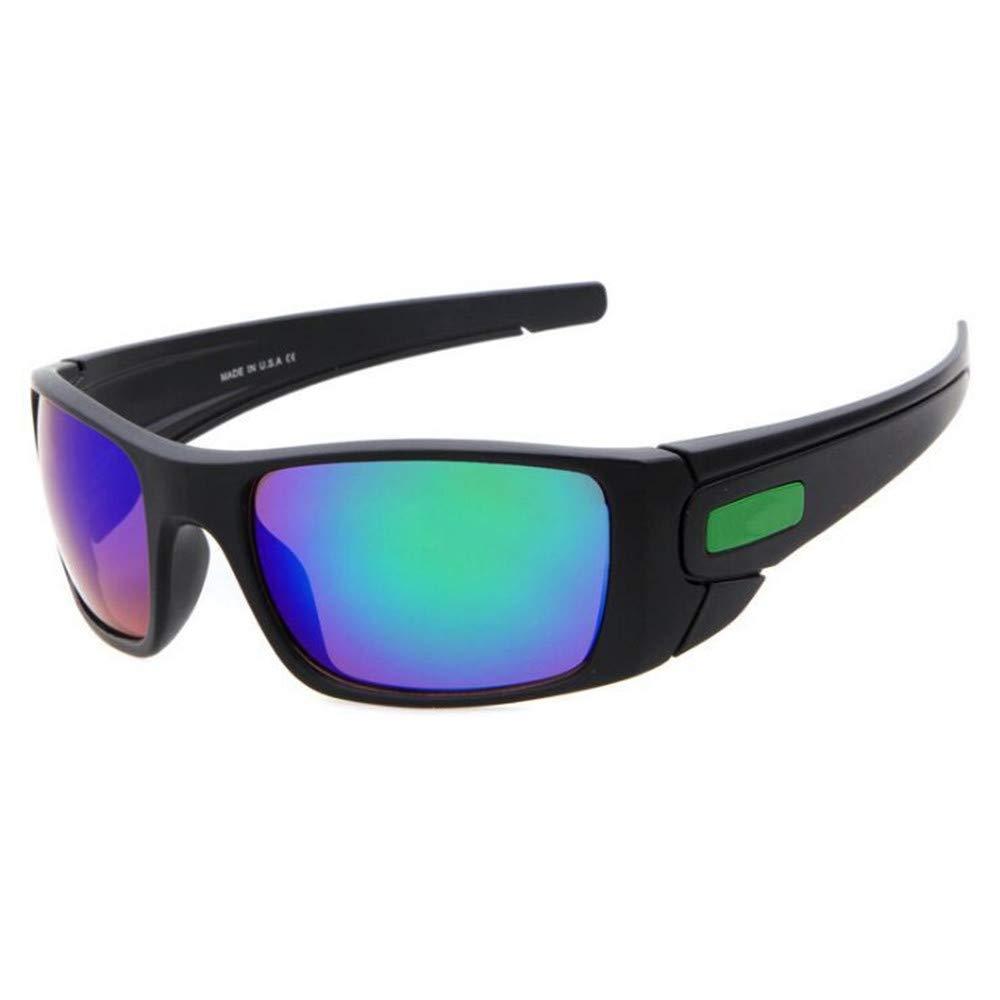 YFFS Sports Sunglasses Cycling Sports Glasses Sunglasses Polarizing Personality Man (Color : Black)