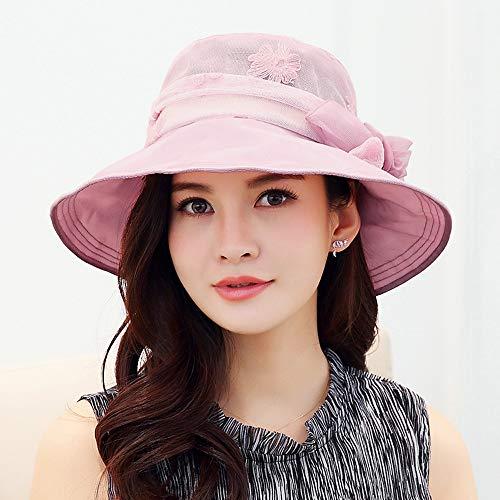 El Verano Colores Al Sombrero Ultravioletas Protección Aire De Fu Plegable Los Contra Libre Playa Ju Mujer Sol 4 Rayos A Para 1FgnYP