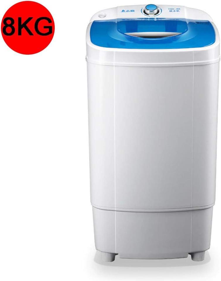 Lavadora PortáTil MonocilíNdric 11 Kg De Capacidad Total Lavadora Y Secadora Rotativa CombinacióN Compacta Camping Dormitorio Apartamento 3 Kg DeshidratacióN Bajo Consumo Función Centrifugado,Blue