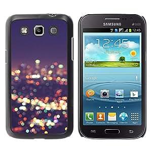Cubierta protectora del caso de Shell Plástico || Samsung Galaxy Win I8550 I8552 Grand Quattro || Lights Blur Night Bright @XPTECH