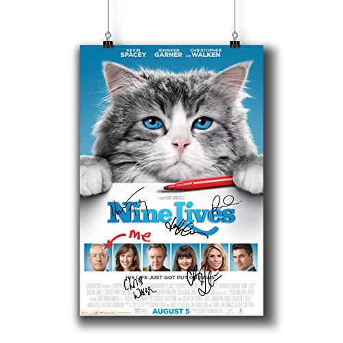 Pentagonwork Nine Lives (2016) Movie Photo Poster Prints 815-002 Reprint Signed Casts,Wall Art Decor Gift (A3|11x17inch|29x42cm)