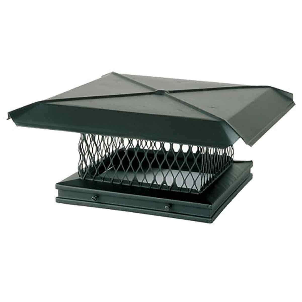 100283 8x13 Galvanized Gelco Chimney Cover