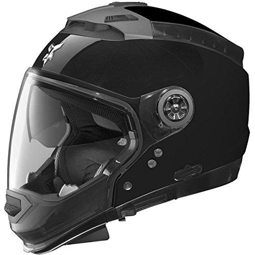 Nolan N44 N-Com Outlaw Adult Street Motorcycle Helmet - Black / X-Large