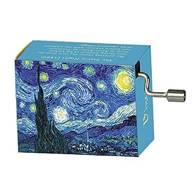 "Fridolin 58025 ""Tschaikowsky Flower Waltz/Van Gogh Starry Night Music Box: Toys & Games"