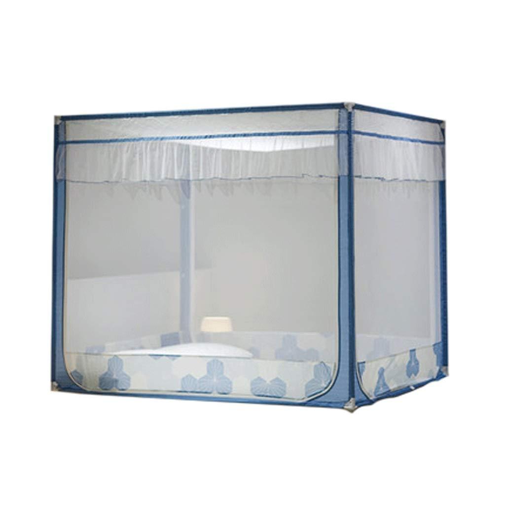 ダストトップ蚊帳ジッパードロップ子供1.5 / 1.8メートルベッド2メートル家庭用蚊帳暗号化肥厚王女の風 (色 : B, サイズ さいず : 1.2m bed) 1.2m bed B B07SBN6HTZ