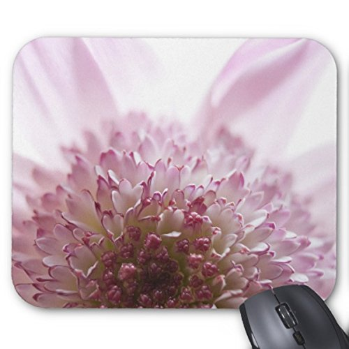 Customized Non Slip Rubber Mouse Pad Soft Pastel Flower Photograph Non Slip Rubber Mouse Pad Gaming
