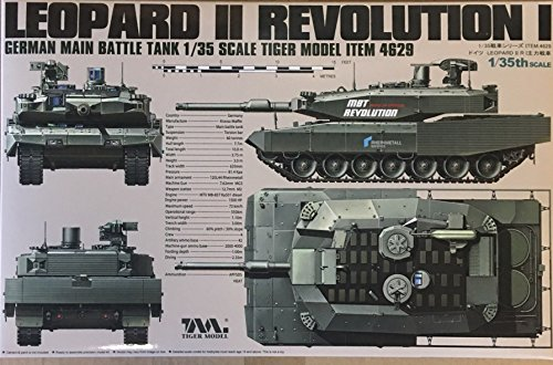 Tiger Model 1:35 German Main Battle Tank Revolution I Leopard II #4629 ()