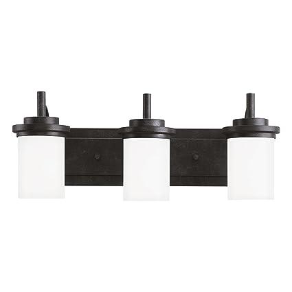Sea Gull Lighting 44662-839 Winnetka Three-Light Bath or Wall Light Fixture  with