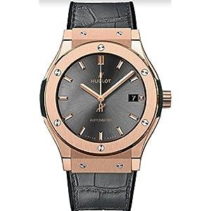 Hublot Classic Fusion Rose Gold Gray 38mm Mens Watch 565.OX.7081.LR