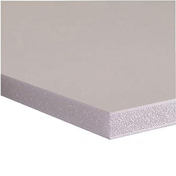 WESTDESN Foamboard - Paquete de 10 paneles de gomaespuma A3, blanco