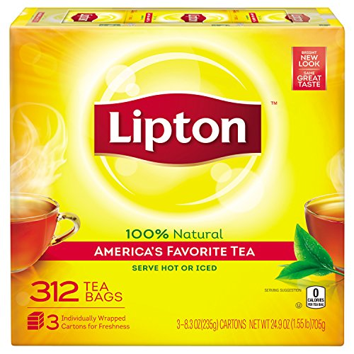Price comparison product image Lipton Black Tea Bags,  America's Favorite Tea 312 ct
