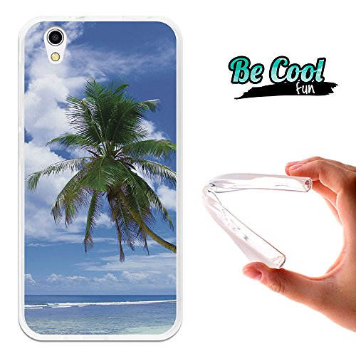 Becool - Cover Gel Flexible Umi London, TPU Case made out of the best Silicone, protects and adapts flawlessly to your Smartphone, together with our exclusive designs. Idyllic beach
