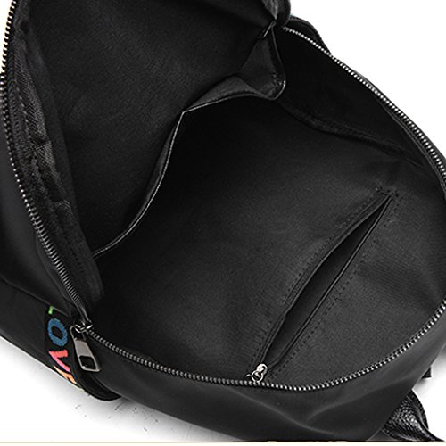 College Student Female Shoulder Bag Oxford Xxpp Backpack Large Canvas Cloth School Wind 76wwIxEq