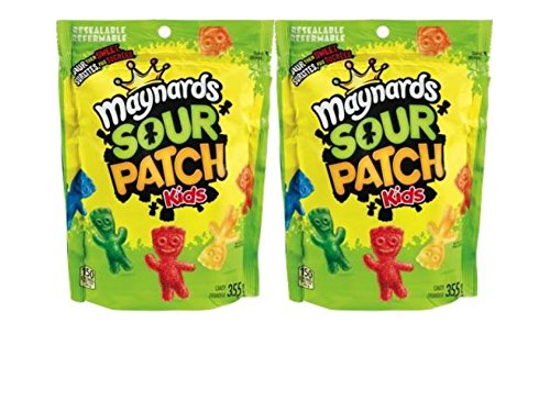 Maynards Sour Patch Kids 2 pack (355 grams x 2 bags) by Maynards