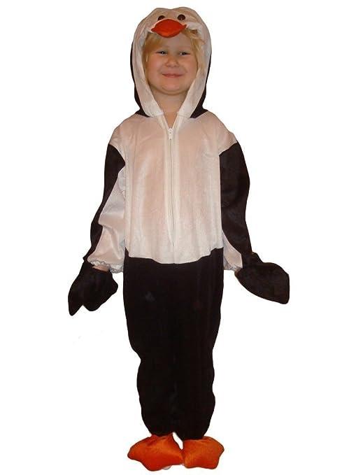 J35 Taglia 3-4A (98-104cm) Costume da pinguino per bambini ... c3bf262f248