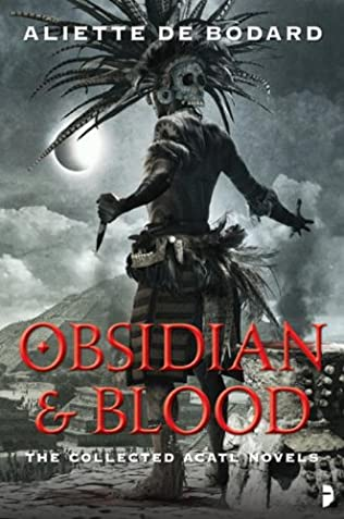 book cover of Obsidian and Blood