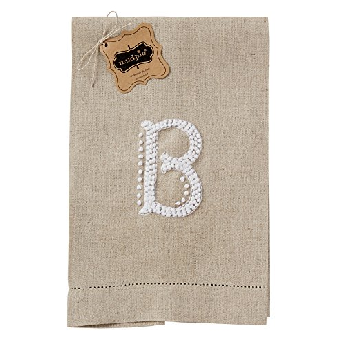 Mud Pie French Initial Fingertip