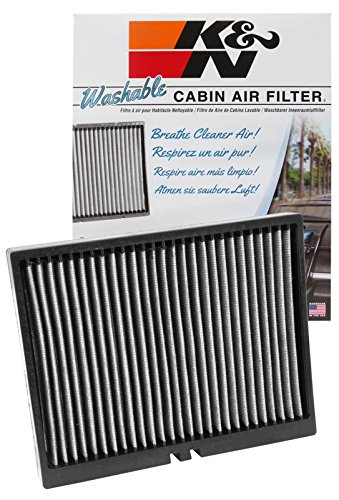 K&N VF2026 Washable & Reusable Cabin Air Filter Cleans and Freshens Incoming Air for your Kia, Hyundai