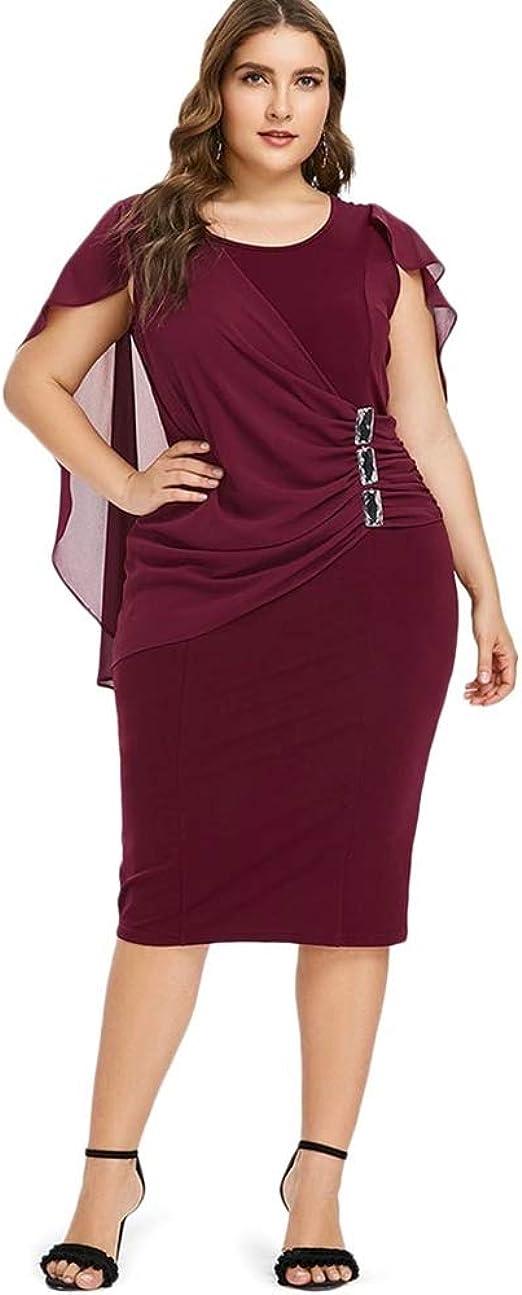 Vestidos Tallas Grandes Plus Talla Mujer Ropa De Moda para ...