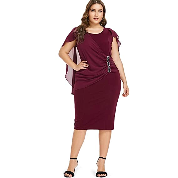 Vestidos Tallas Grandes Plus Size Women Ropa De Moda Para