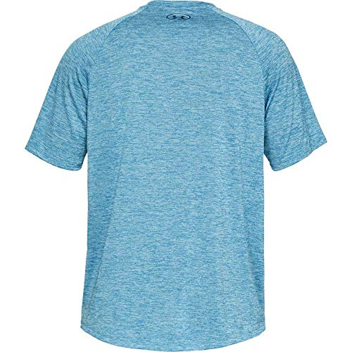 Under Armour Men's Tech 2.0 Short Sleeve T-Shirt, Ether Blue (452)/Academy, 3X-Large by Under Armour (Image #6)