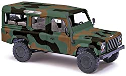 Busch 50304 Land Rover Camouflage HO Scale Vehicle by MODELS11 INC