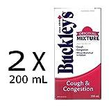 BUCKLEYS Original COUGH CONGESTION Syrup (2 bottles of 200mL)